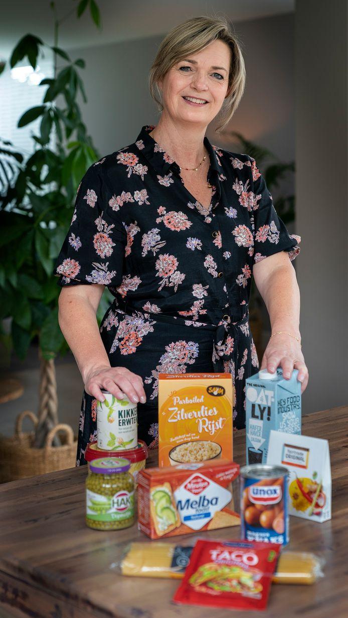 Al acht jaar is Manon van Dinther coördinator van Voedselhulp, onderdeel van de Vincentiusvereniging Schijndel.
