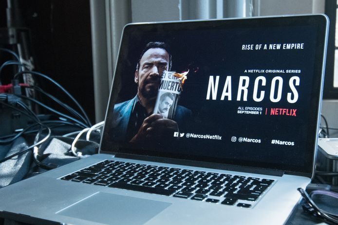 De Netflix-serie Narcos.