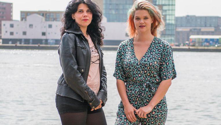 Carla Navarro (l) en Anna Chvartchenko haalden het festival, dat elk jaar in Barcelona plaatsvindt, naar Nederland Beeld Jesper Boot