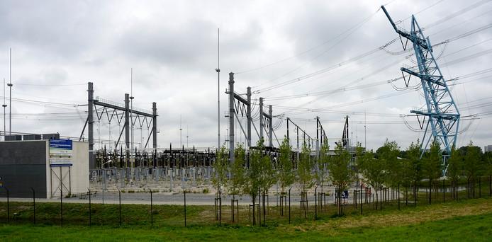 Een hoogspaningsstation van TenneT, foto ter illustratie.