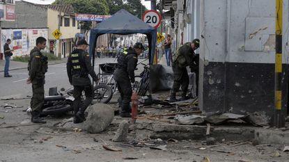 Explosie in Colombia maakt dode en meer dan 50 gewonden