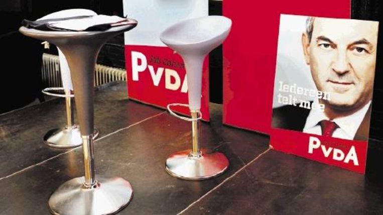 De PvdA combineerde de 1-meiviering dit jaar met de aftrap voor de verkiezingscampagne met Job Cohen als lijsttrekker. (FOTO MAARTEN HARTMAN) Beeld