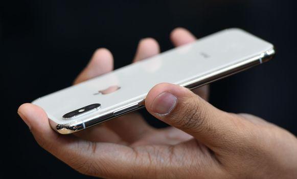 Illustratiefoto: de iPhone X.