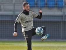 Eden Hazard pas encore repris avec le Real avant le match de coupe à Saragosse