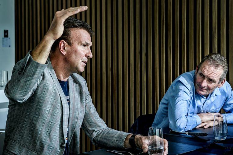 Johan Museeuw: 'Een zoon hebben die koerst, dat is elke keer weer opgelucht ademhalen als hij niet betrokken blijkt bij een valpartij.' Beeld