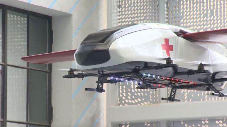 de ambulance van de toekomst