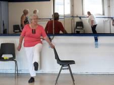In het klasje van Annie Swaans (88) blijven ze wel fit