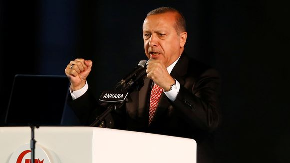 De Turkse president Erdogan (archiefbeeld).