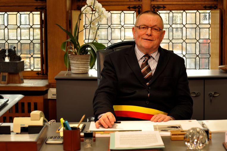 Luc Dehaene in 2012, toen hij nog burgemeester was van Ieper.