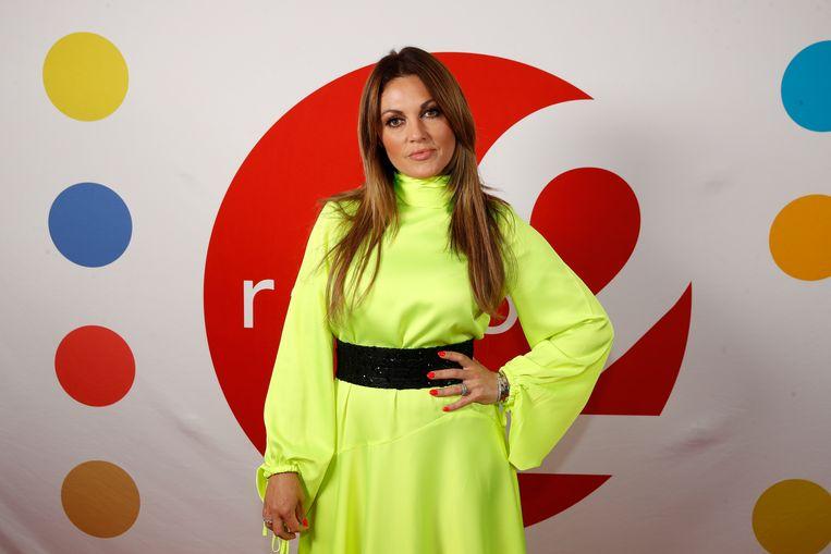 Belle Perez vorig jaar op de uitreiking van de Radio 2 Zomerhit
