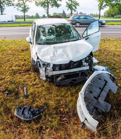 Man (24) uit Nispen aangehouden na ongeval op A58, vrouw uit Teteringen gewond
