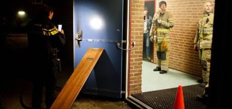 Toegangsdeur Amersfoortse sporthal opgeblazen met vuurwerk