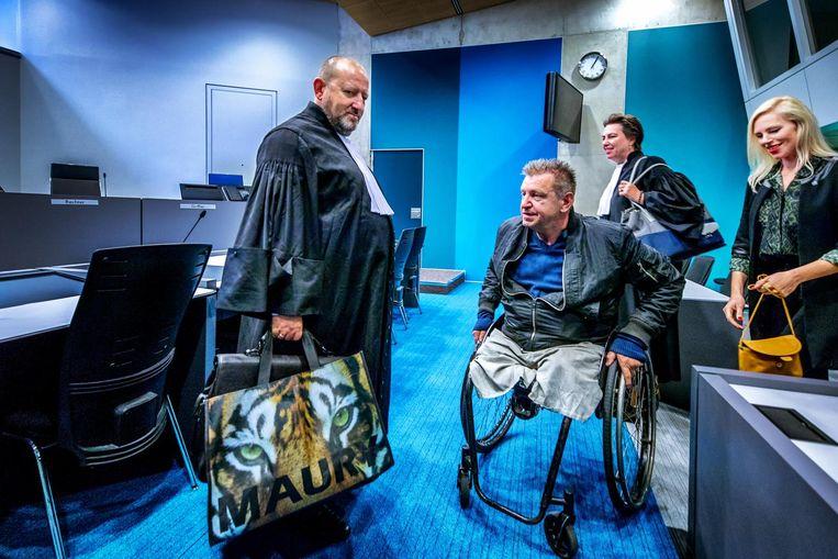 Rob Scholte in de rechtbank in oktober 2017 Beeld Raymond Rutting / de Volkskrant