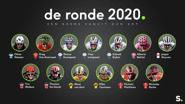 DeRonde2020 - een koers vanuit hun kot