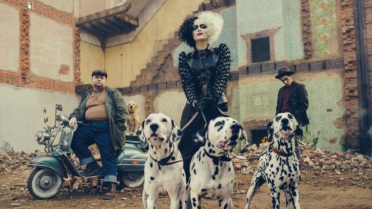 Emma Stone als 'Cruella'