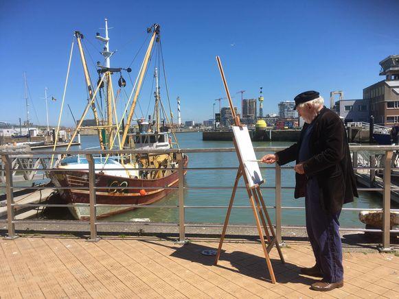 Jan Decleir werkte mee aan de familietocht bij de expo over Permeke in Oostende.