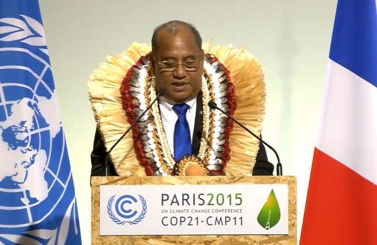 President van de Marshall Islands. Beeld Screenshot