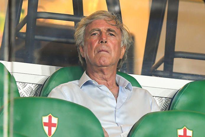 Enrico Preziosi, de voorzitter van Genoa CFC.