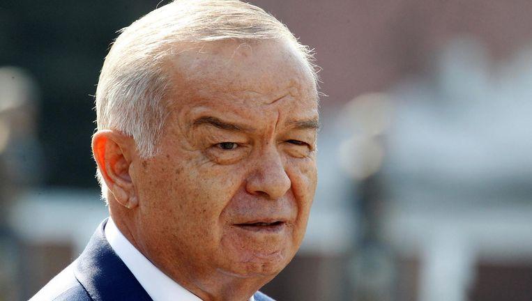 De Oezbeekse president Islam Karimov in 2013. Beeld reuters