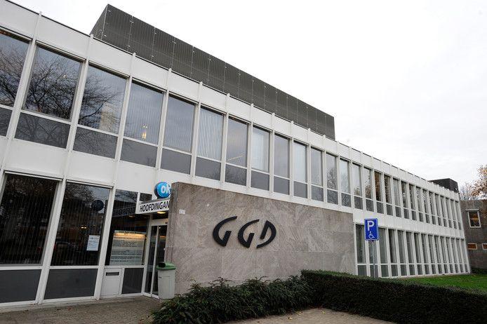 Het door Jos. Bedaux ontworpen gebouw van de GGD Hart voor Brabant aan de Ringbaan-West.