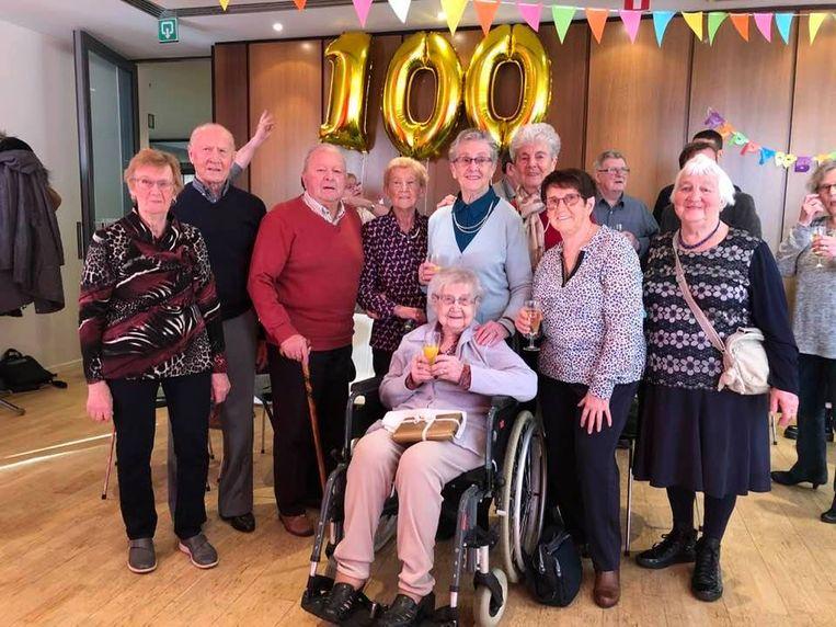 Gerarda Gevaert vierde zopas haar honderdste verjaardag.