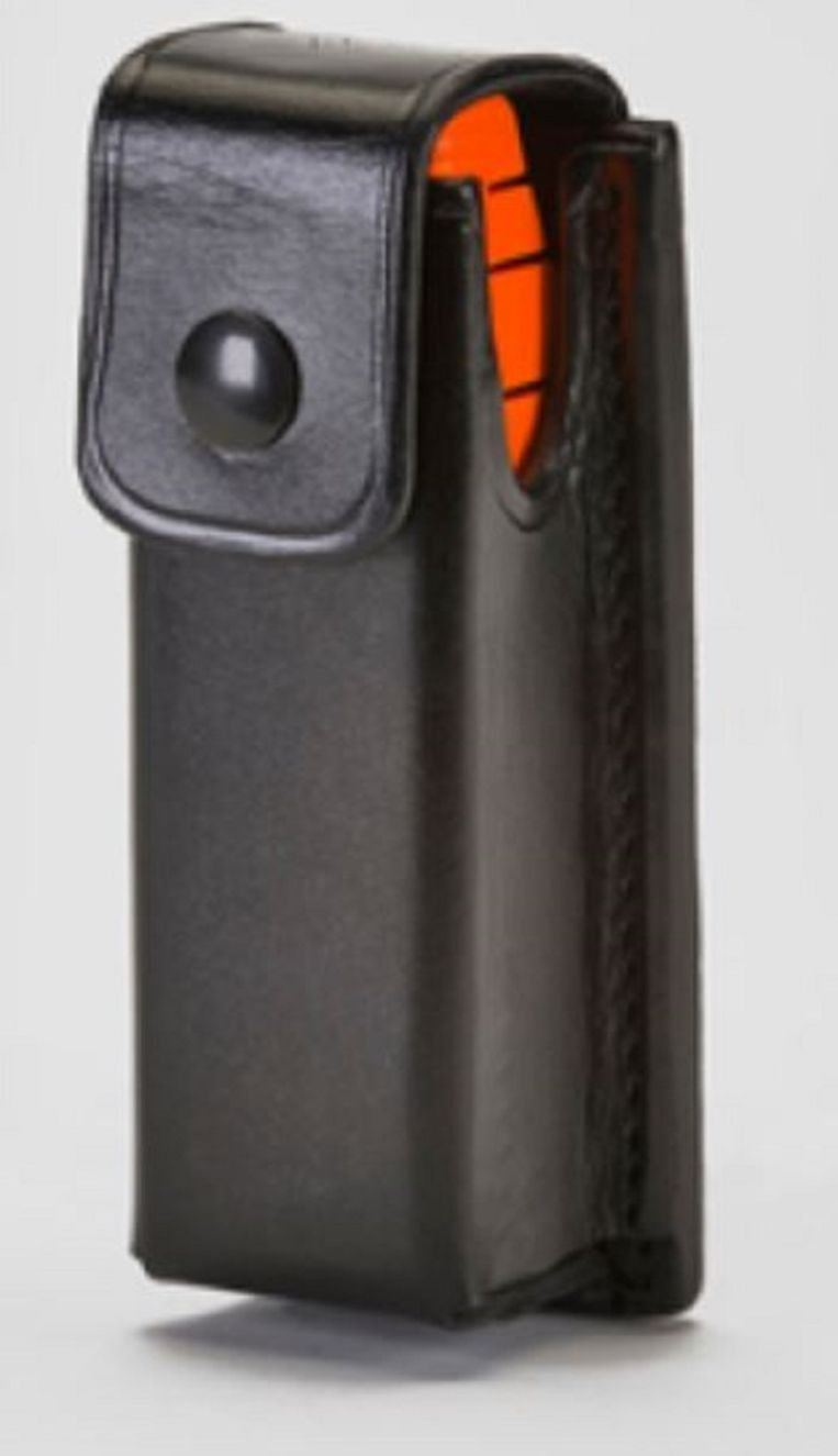 Agenten kunnen het projectiel aan hun riem bevestigen. Beeld Alternative Ballistics