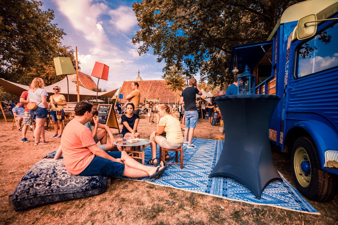 Het foodtruckfestival Vreden 2018 van Lust Food Truck Festival Winterswijk. Foto Frank Bosvelt