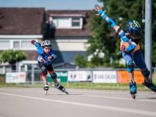 Sprinters in Lingewaard treffen doel met hun  eerste skeelerkampioenschap voor de jeugd