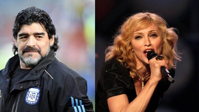 """Verwarring op Twitter na overlijden Maradona: """"Is Madonna gestorven?"""""""