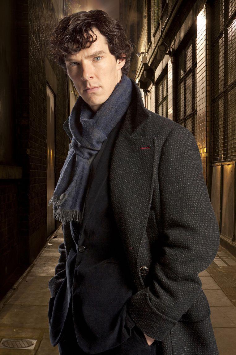 Benedict Cumberbatch als Sherlock. Beeld AP