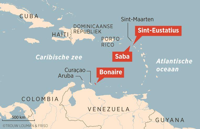 Bonaire, Saba en Sint Eustatius Beeld Trouw