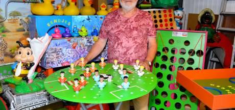 Willie Pluijm uit Best verzint eigen gezelschapsspelletjes