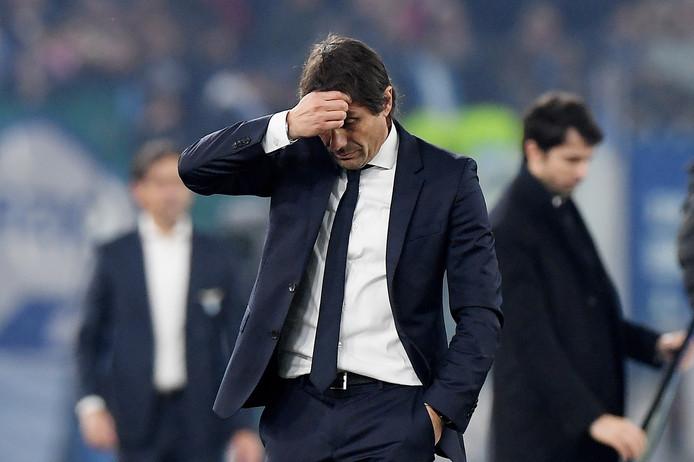 Inter Milan coach Antonio Conte.