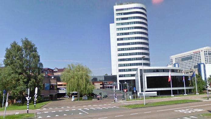 Het voormalige provinciehuis aan de Pythagoraslaan in Utrecht.