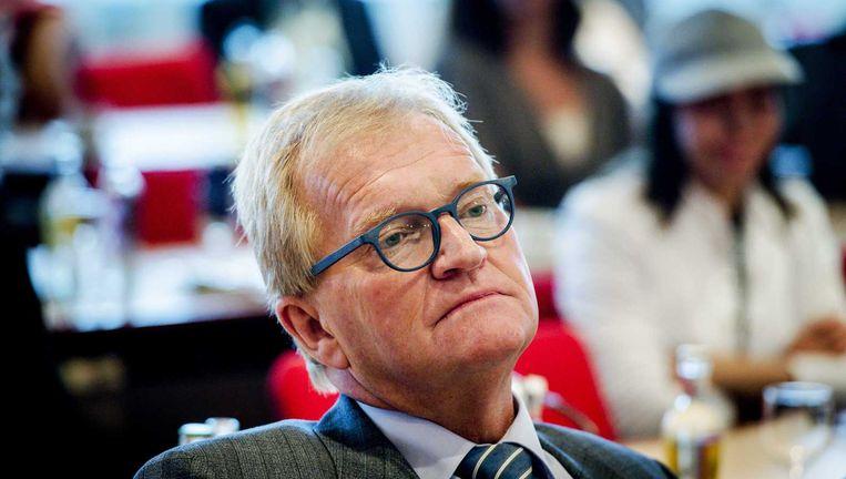 Hans de Boer: `van meet af aan uitleg` op pagina 123 van een jaarverslag. Beeld ANP