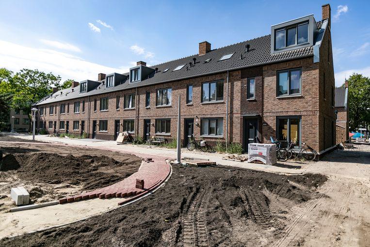 Goedkope sociale huurwoningen in Bos en Lommer naar miljoenpandjes. Beeld Eva Plevier