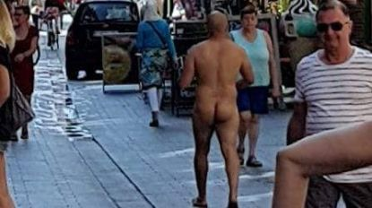 De hitte, het doet wat met een mens: naakte man zorgt voor opschudding in winkelcentrum Beveren