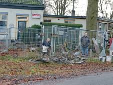 Voormalig koffie- en theehuisje in Voorst met de grond gelijkgemaakt