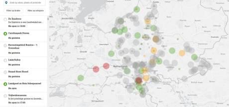 Druktemeter voor dagje uit in Gelderland werkt nog niet voor alle publiekstrekkers in Rivierenland