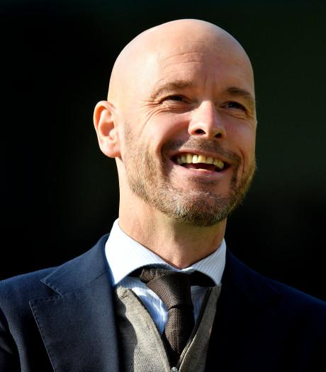 Twentse trainer Erik Ten Hag verlengt tot medio 2022 bij Ajax