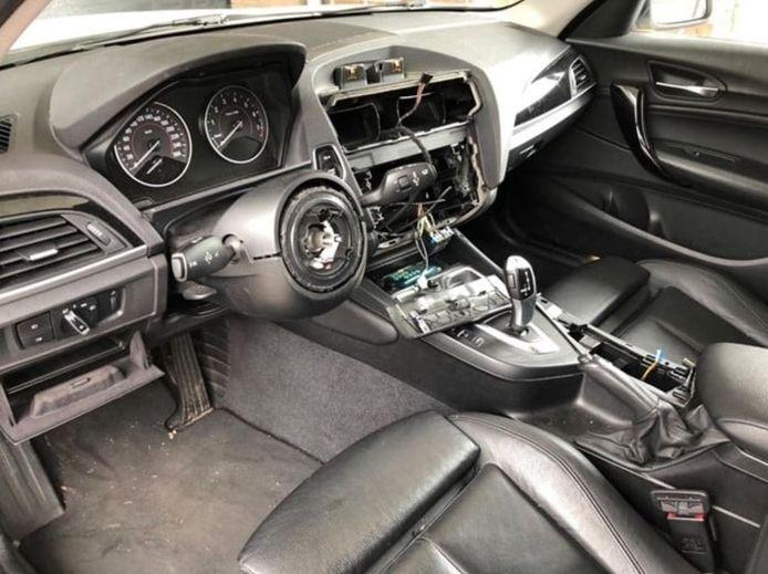 De gevolgen van een auto-inbraak: vaak zijn airbags en het infotainment doelwit van de inbrekers