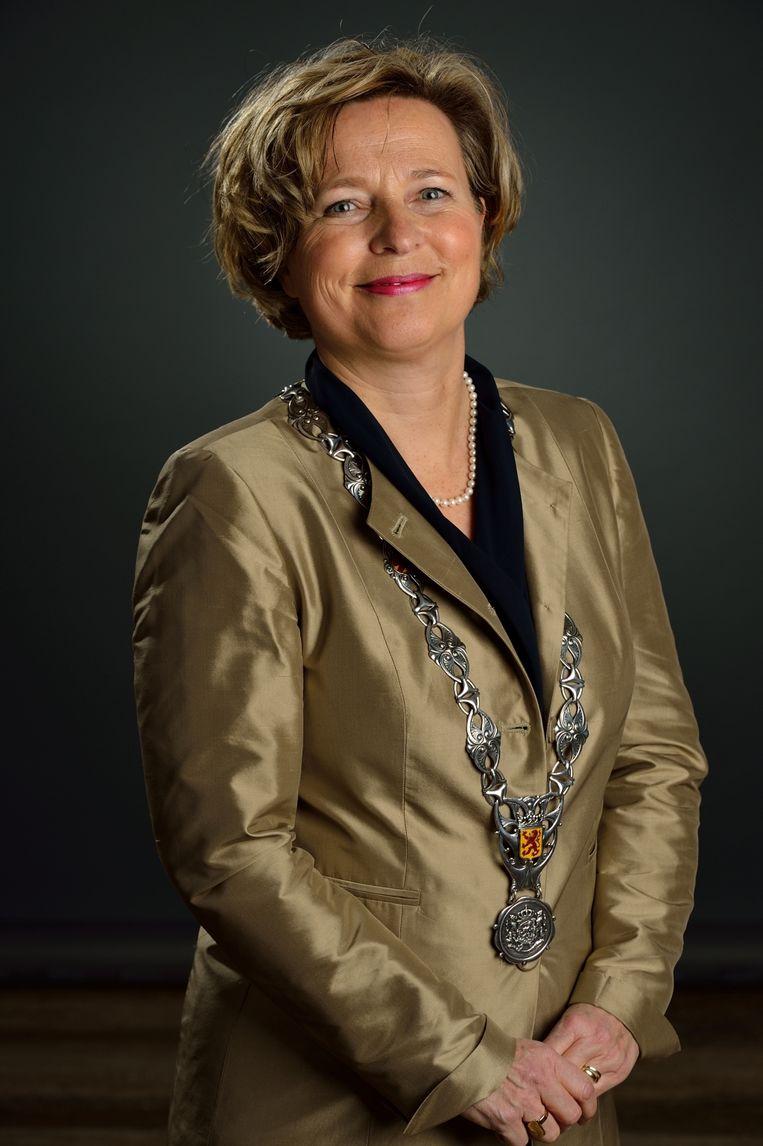 Scheidend burgemeester Annemiek Jetten (PvdA) van Vlaardingen. Beeld Gemeente Vlaardingen