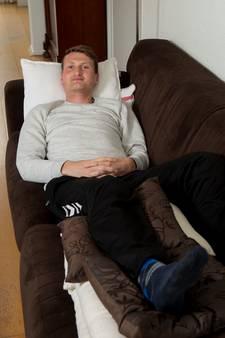 Max Buis heeft dubbele gevoelens door blessure