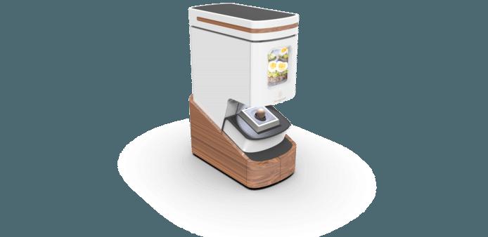 Het apparaat combineert twee manieren van verwarmen.