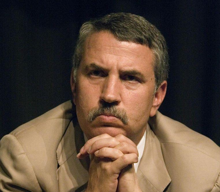 Thomas Friedman is columnist van The New York Times. Beeld mechel000