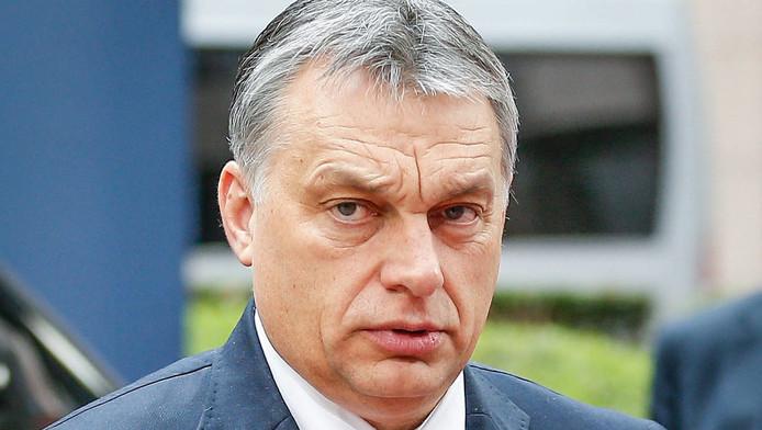 """Viktor Orban considère que les attentats de Bruxelles doivent être pris comme des """"des attaques contre la Hongrie""""."""