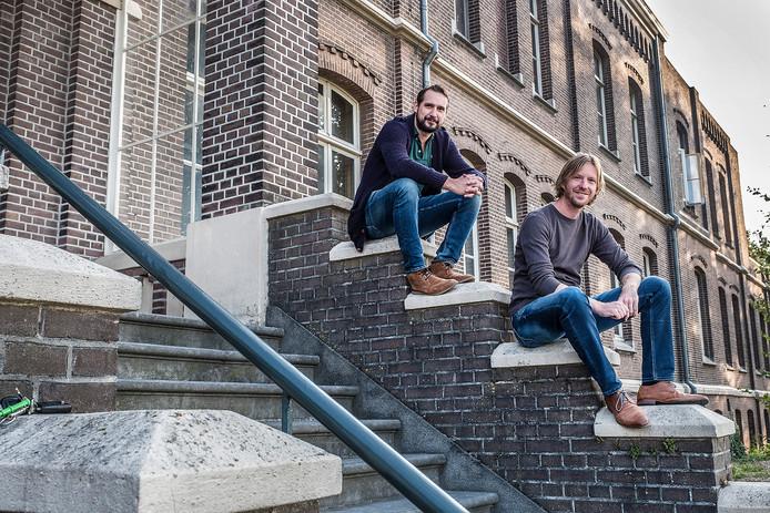 Thijs van der Wiel (links) organiseert samen met Rik Cornelissen Jazz aan de Maas. Archieffoto