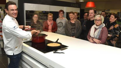 Kok Stefaan Van Beveren leidt workshop