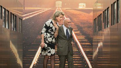 Koningin ontmoet Holocaust-overlever