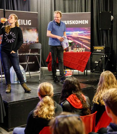 Les in Steenwijk: Ook anderen die drugs, drank of lachgas gebruiken zijn een gevaar voor jou